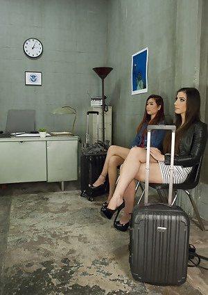 Ladyboy in Office Pics